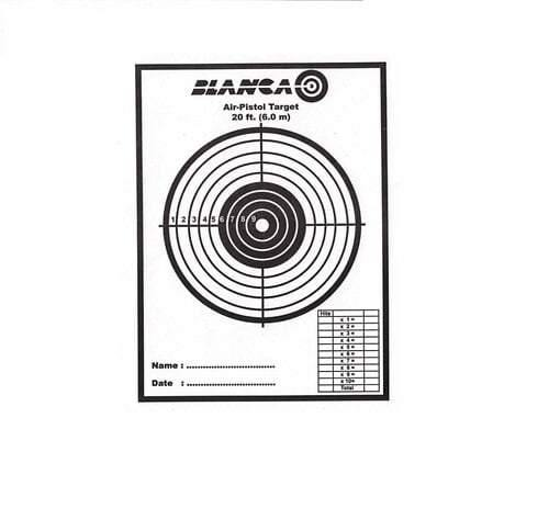 Blanca Target Papers Pistol (Pack Of 20) - Kovibazaar
