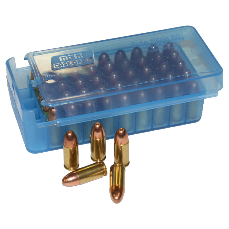 MTM's Side-Slide Pistol Handgun Ammo boxes P50SS-45-24