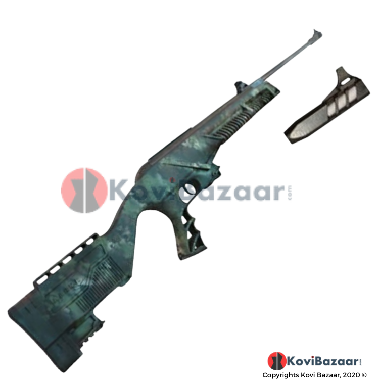 Hurricane Mod 20 Camo Stock Airgun (0.177cal/4.5mm) - Kovibazaar