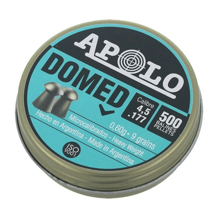 Apolo Domed .177Cal 0.60 9grains 500 pellets
