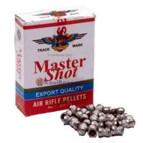 Master Shot Export Quality Round Head 0.177(4.5mm) 500/Tin - Kovibazaar