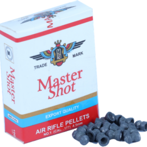 Master Shot Export Quality Pointed 0.177(4.5mm)Air Gun Pellets [5 Pack Combo] 8.4gr - Kovibazaar