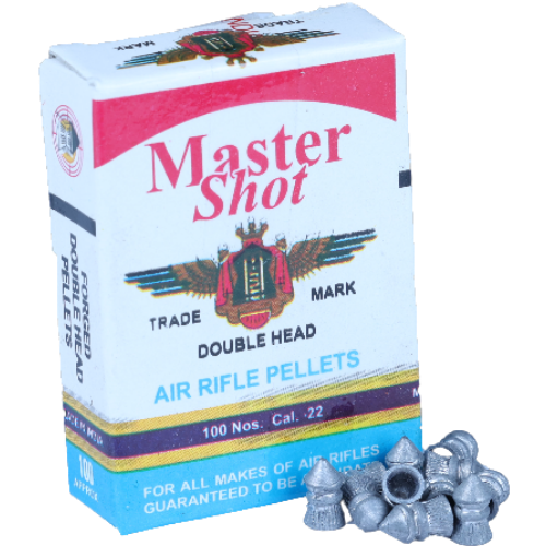 Master Shot Pointed Double Head 0.22(5.5mm)  [3 Pack Combo]17.3 gr Airguns Pellets - Kovibazaar