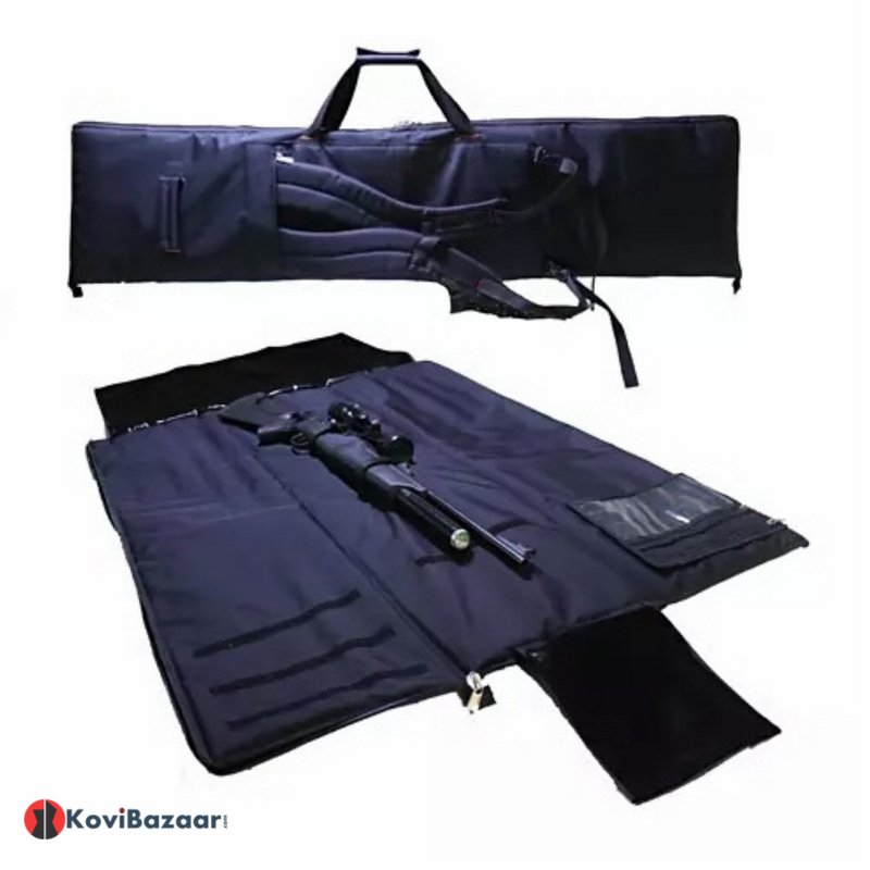Plink Sport Airrifle/ Gun Carry Case Cum Prone Shooting Mat 2 in 1 - Kovibazaar