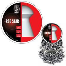 BSA Red Star (0.177Cal/4.5mm) 8.02 grains/0.52g  (450 Pellets/Tin) Airguns pellets - Kovibazaar