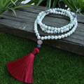 Natural Howlite Necklace