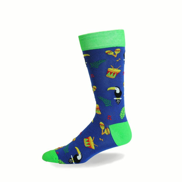 Men's Crazy Toes Toucan