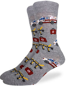 Men's Good Luck Sock Paramedic