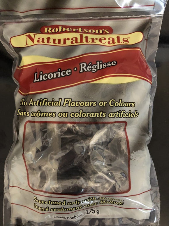 Licorice No Artificial Flavours or Colours