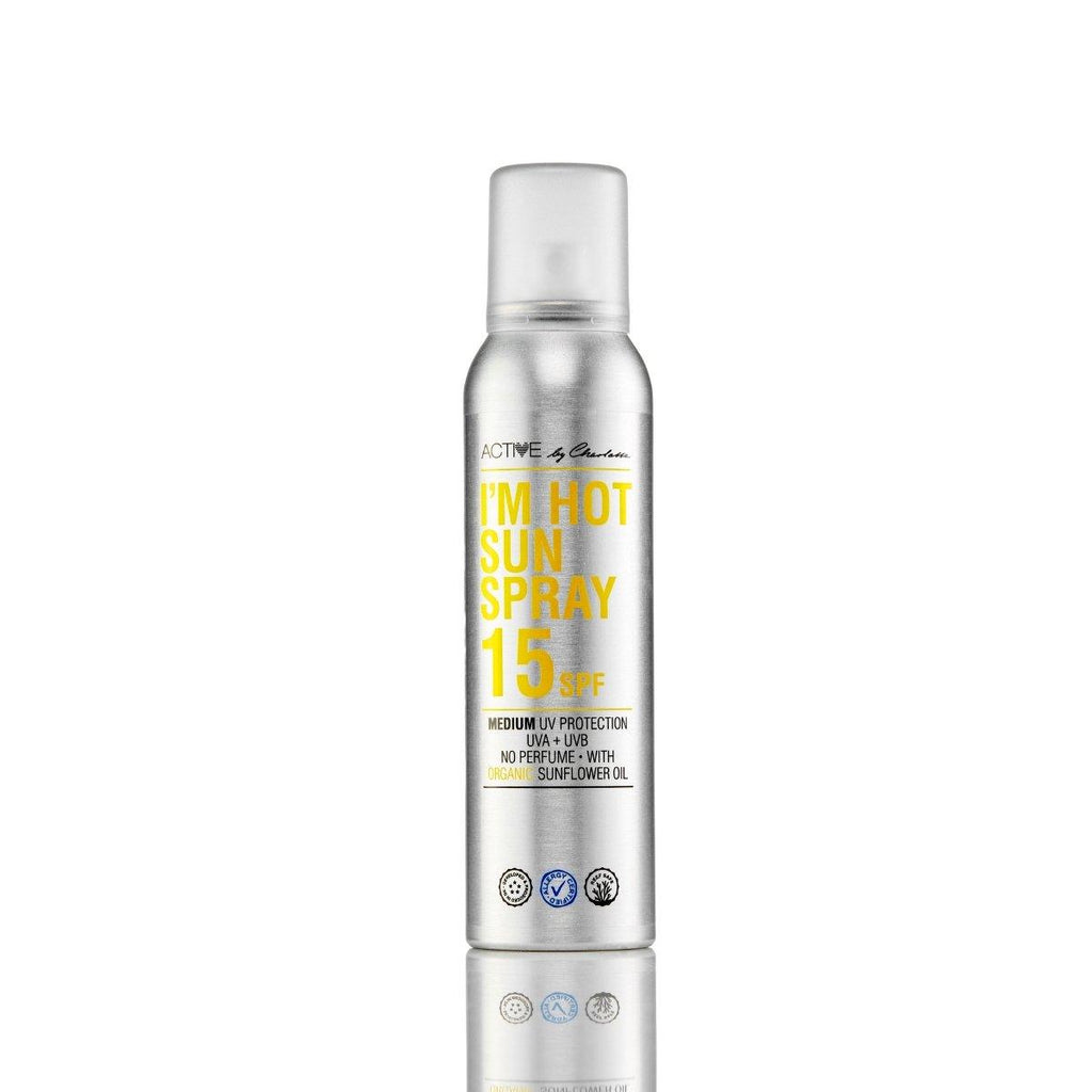 Active By Charlotte I'm Hot Sun Spray 15 SPF - Nulallergi.dk