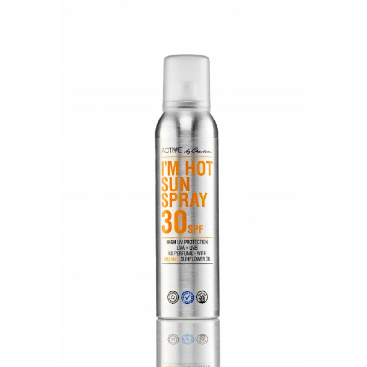 Active By Charlotte I'm Hot Sun Spray 30 SPF - Nulallergi.dk