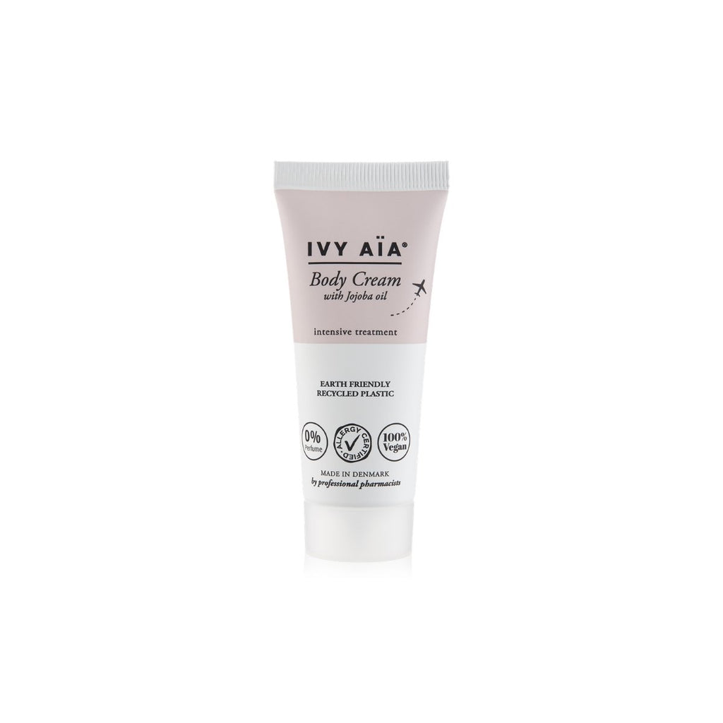 IVY AïA Body Cream with Jojoba Oil, Travel Size 30 ml. - Nulallergi.dk