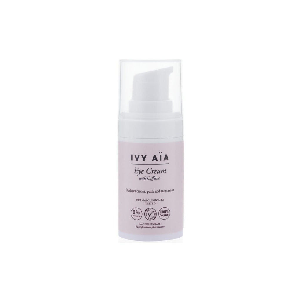 IVY AïA Eye Cream with Caffeine - Nulallergi.dk