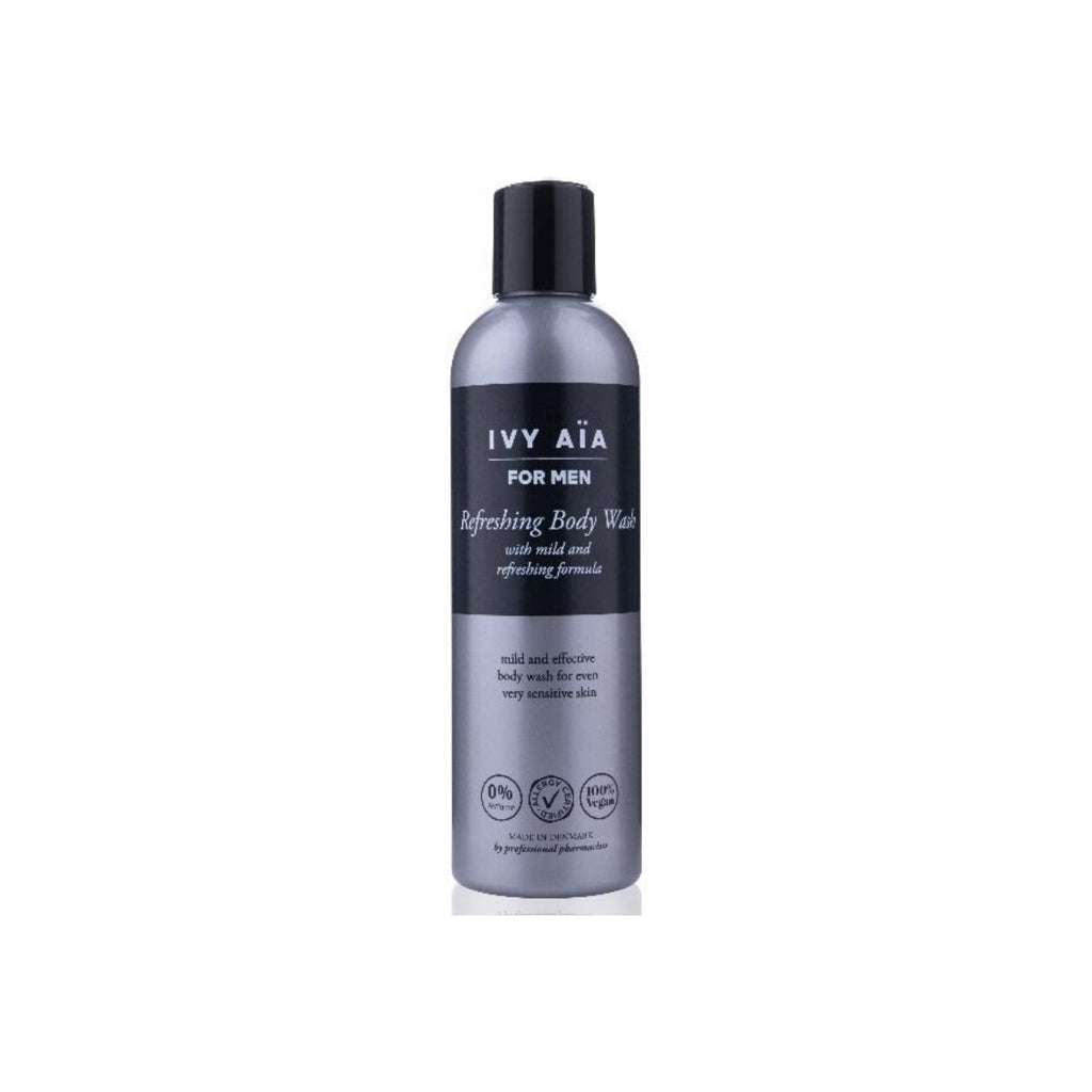 IVY AïA Men Refreshing Body Wash with mild and refreshing formula - nulallergi.dk