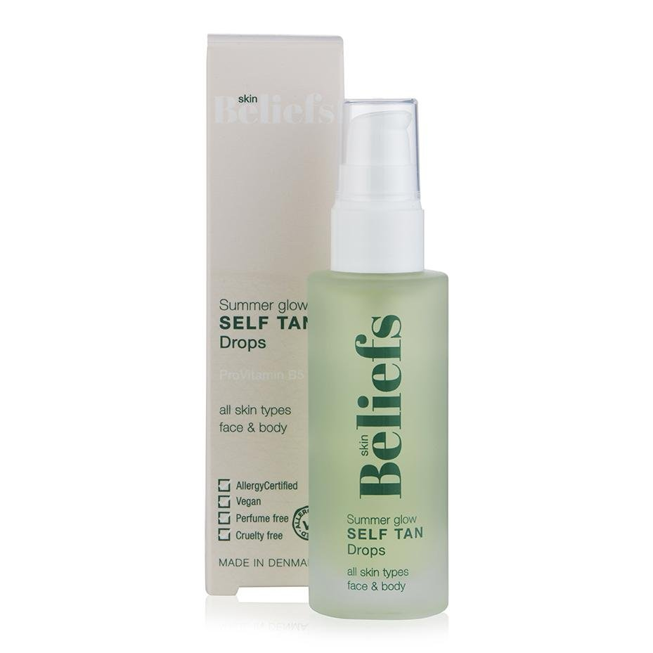 Skin Beliefs Summer Glow Self Tan Drops 50ml - Nulallergi.dk