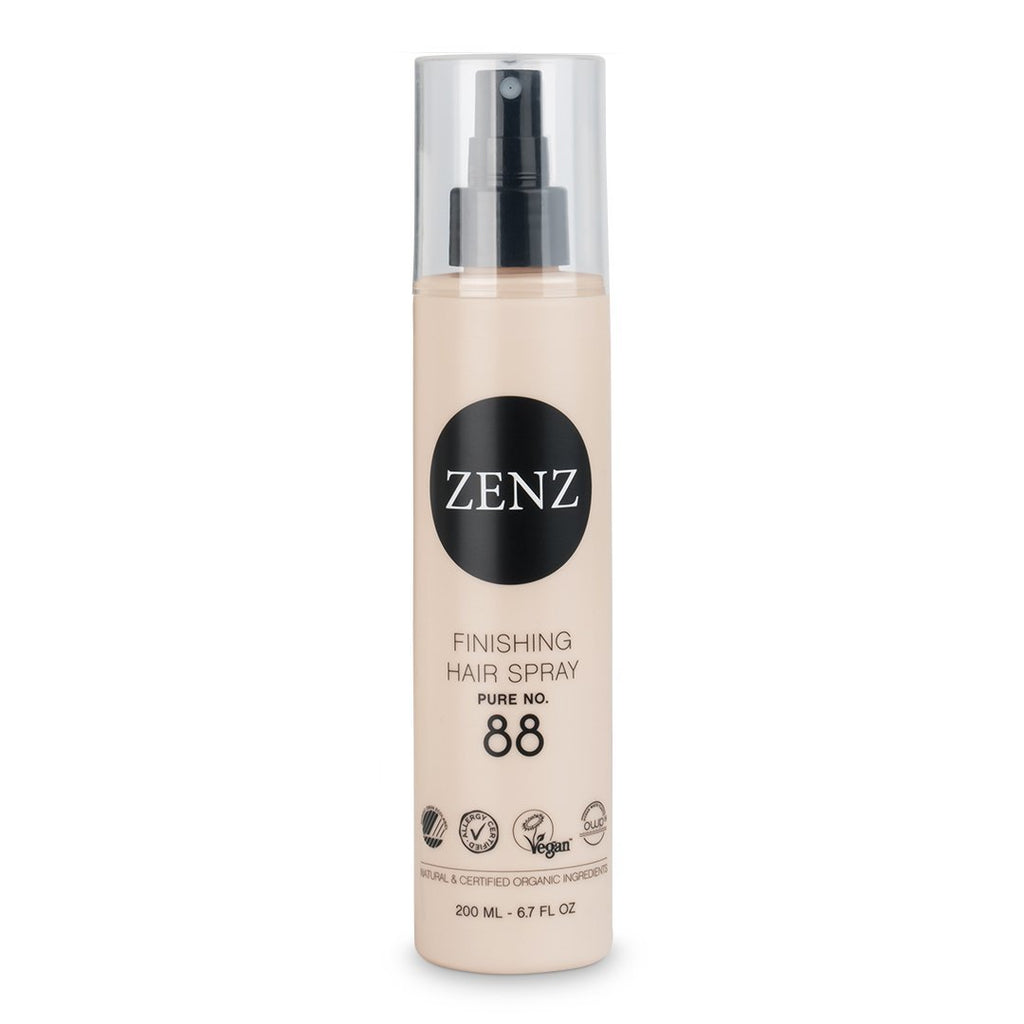 Zenz Finishing Hair Spray Pure no. 88, strong hold - Nulallergi.dk