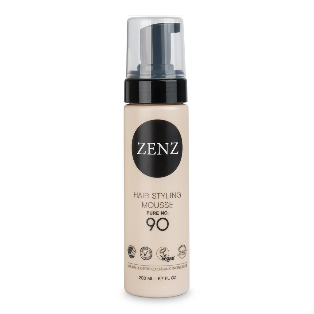 Zenz Volume Hair Styling Mousse Pure no. 90 - Nulallergi.dk