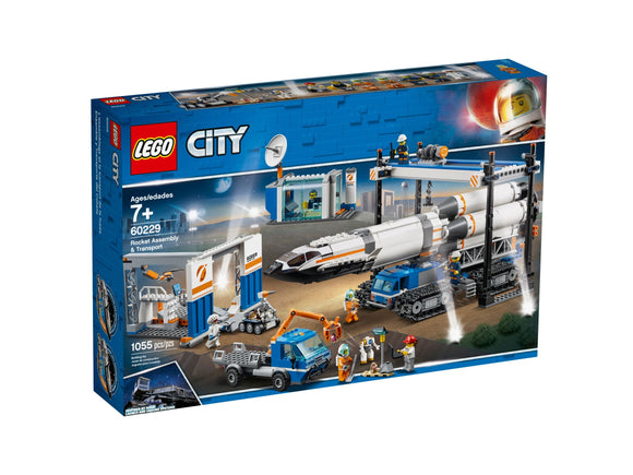 LEGO City - Raketenmontage & Transport