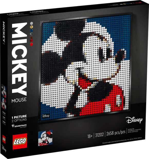 LEGO Wall Art - Disney's Mickey Mouse