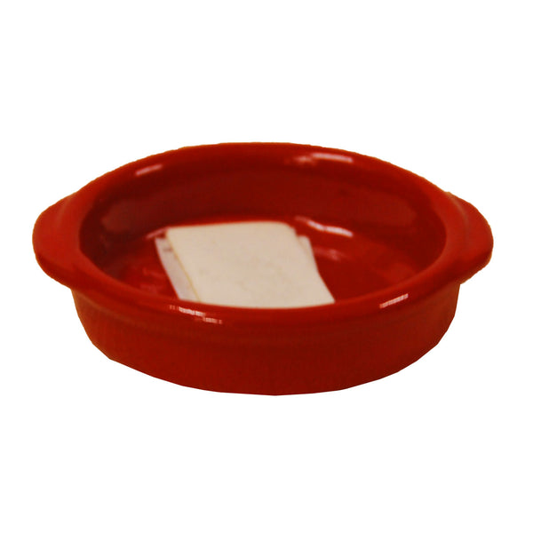 6460 Red Casserole With Handle 8cm