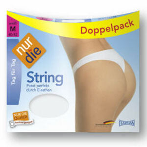 Cotton Thong Two Pack