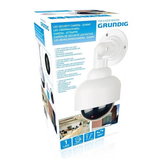 Security camera led PL Grundig dummy 360gr excl.2xAA