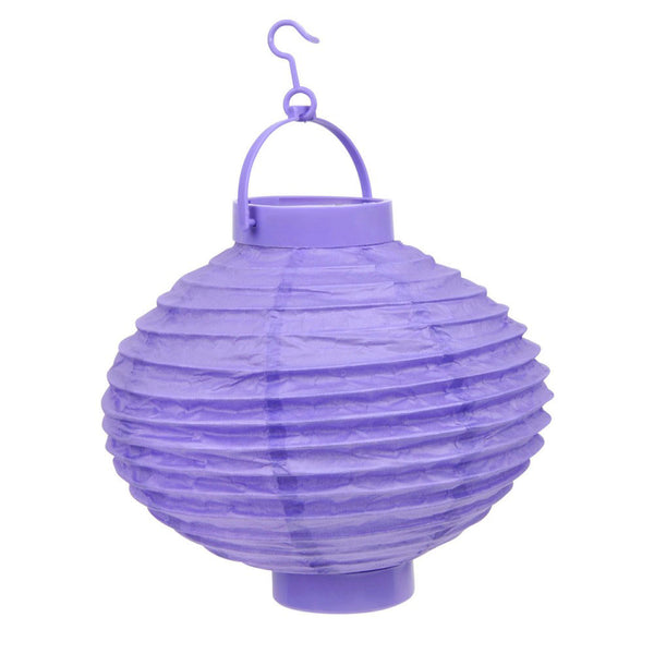 Paper lantern 20cm 6ass colour