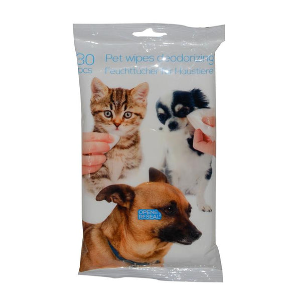 Pet wipes deodorizing 30pcs PT