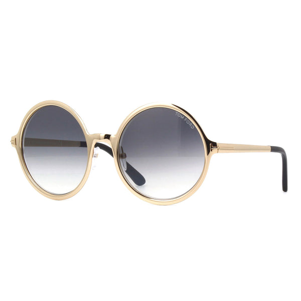 Tom Ford Ava-02 Shiny Rose 57mm Sunglasses