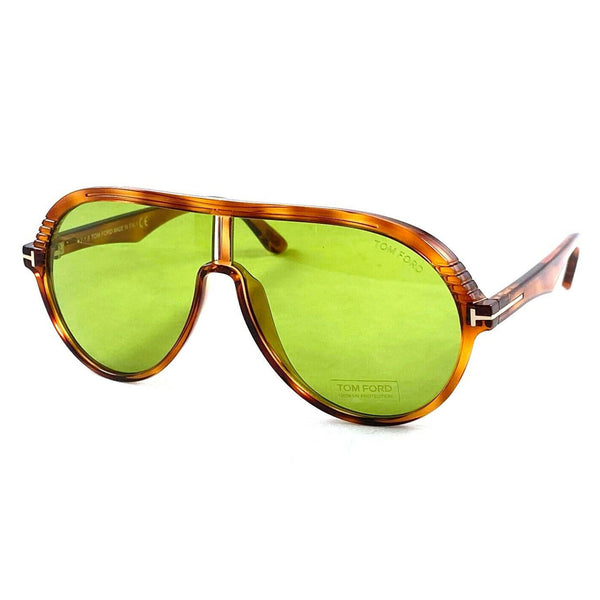 Tom Ford Havana Green 63mm Sunglasses