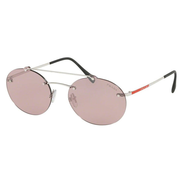 Prada Unisex Oval 55mm Sunglasses