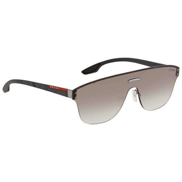 Prada Unisex Irregular Sheild 43mm Sunglasses