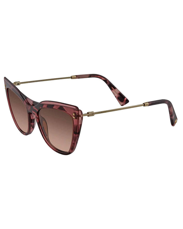 Valentino Women Pink/Havana 52mm Sunglasses
