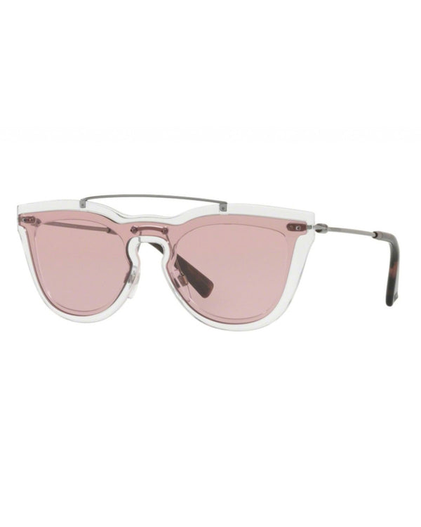 Valentiono Crystal Pink Sunglasses