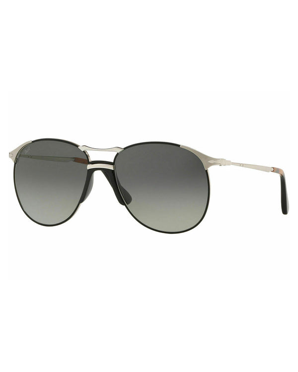 Persol Black/Gray 55mm Sunglasses