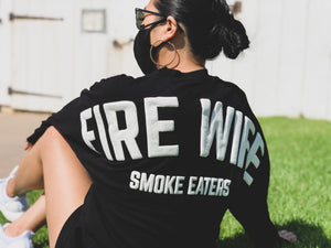 Spirit Jersey - Fire Wife - Compton Fire Apparel Fireman First Responders