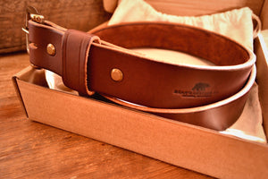 Bear Belt - Dark Brown