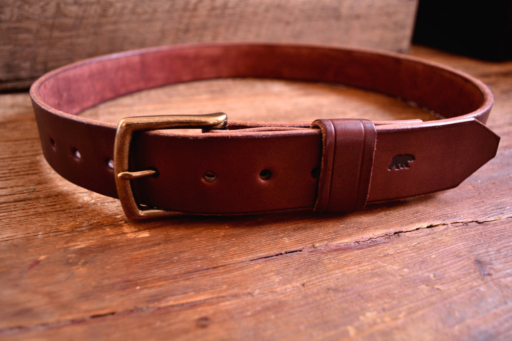 Load image into Gallery viewer, Bear Belt - Dark Brown