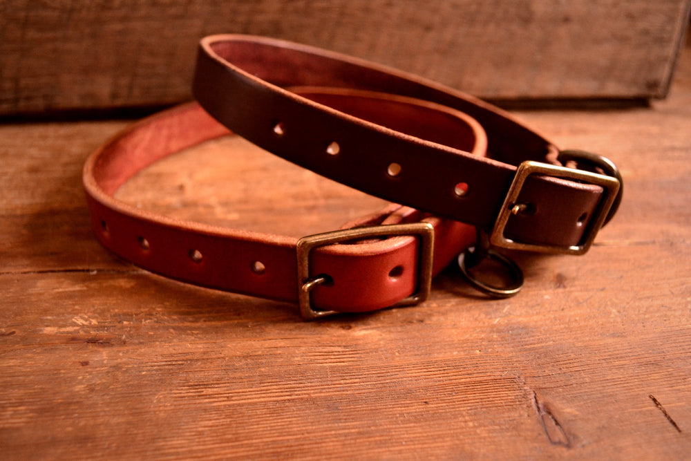 Load image into Gallery viewer, Dog Collar - Chestnut