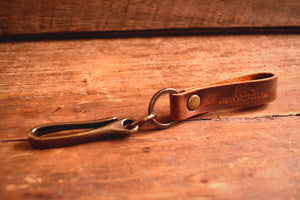 Load image into Gallery viewer, Japanese Fish Hook Keychain