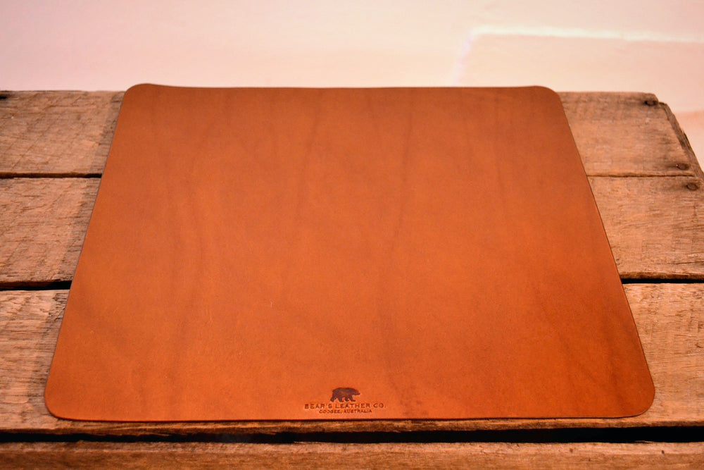 Leather Mousepad - Chestnut