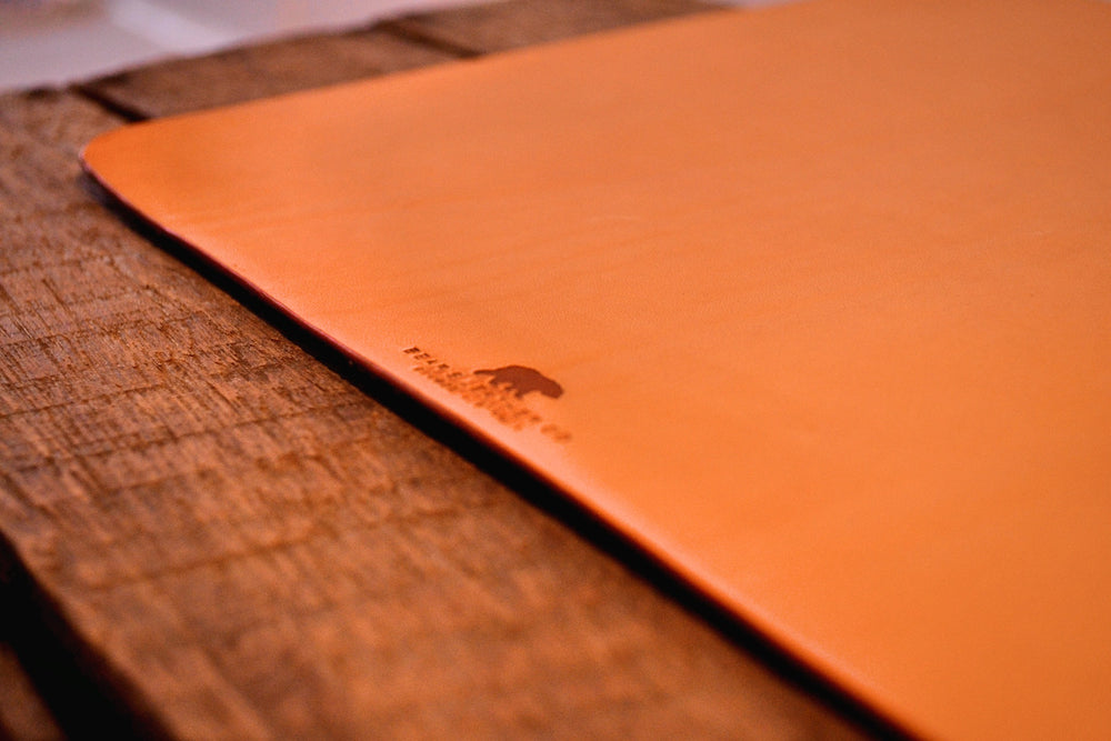 Leather Mousepad - Natural