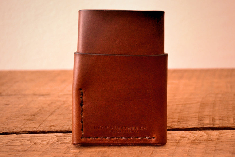 Wrap Wallet - Dark Brown