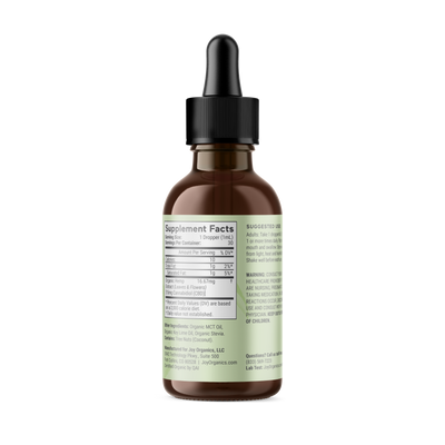 Fresh Lime Organic CBD Tincture (Full Spectrum)