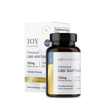 CBD Softgels - Everyday Formula