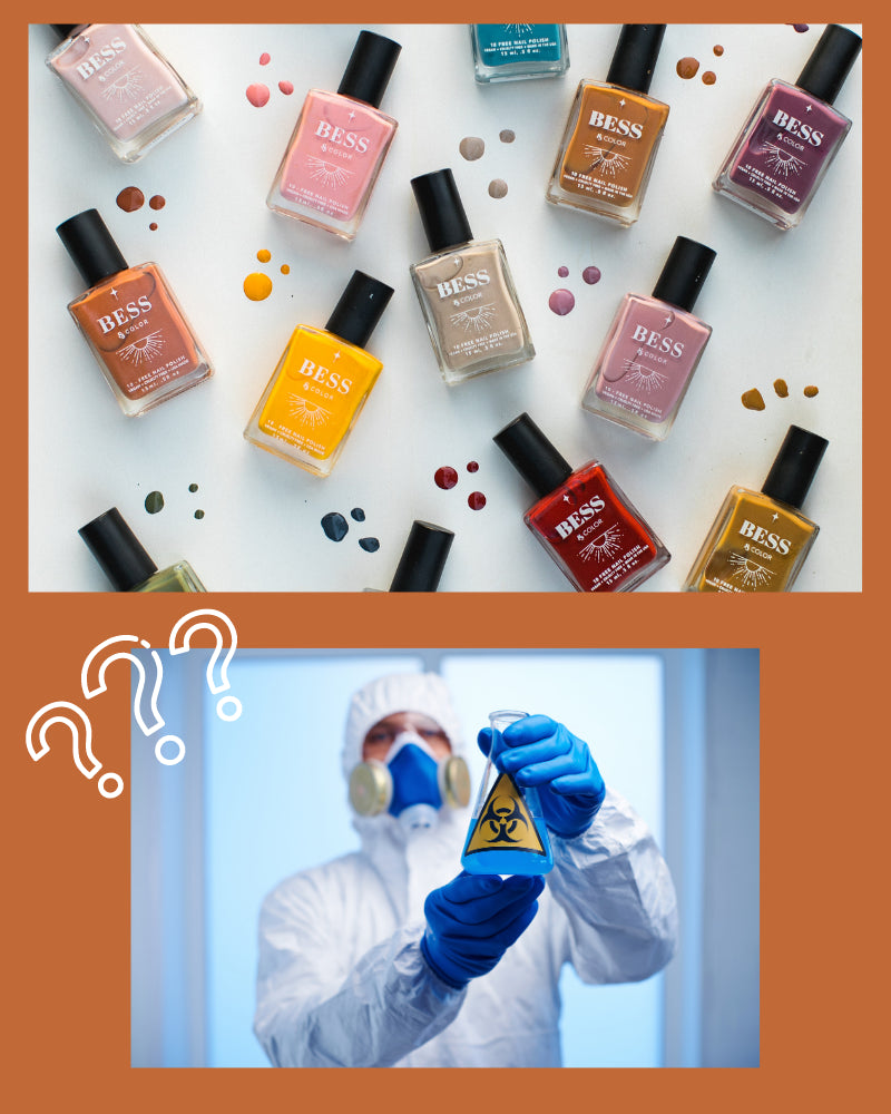What Is 10-FREE Nail Polish? - What You Need To Know & Why We Offer It.