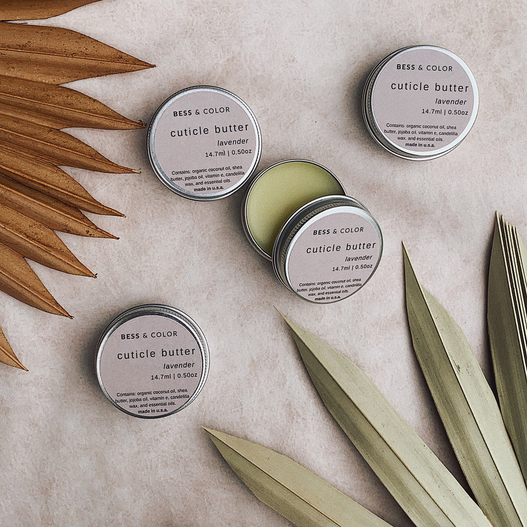 Natural Vegan Cuticle Butter | Lavender Scent