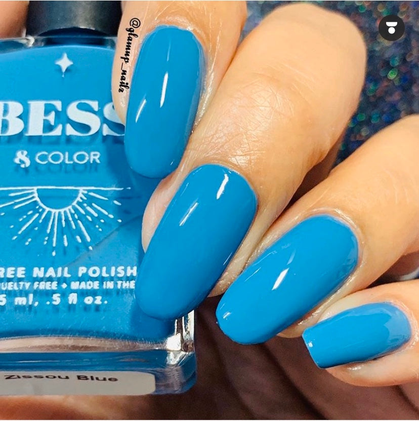 Zissou Blue | Nail Polish