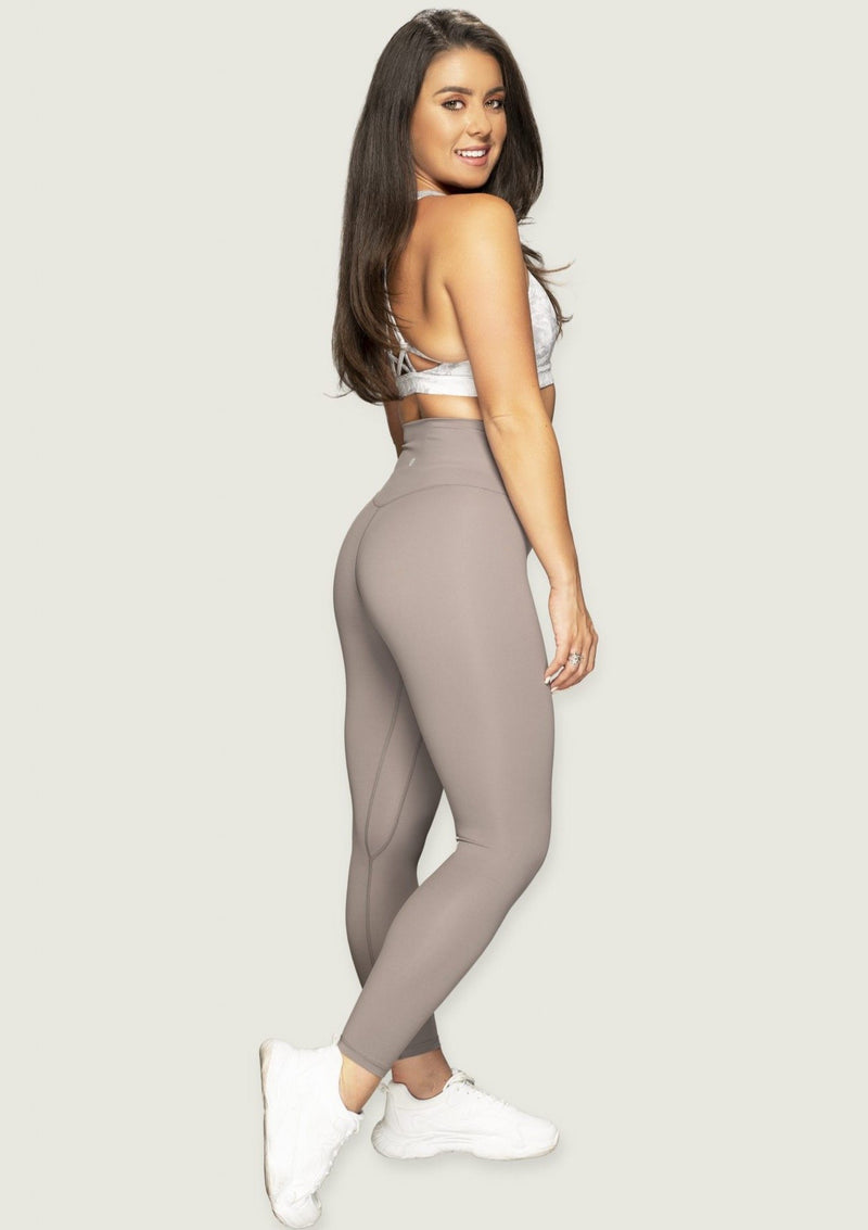 L'Couture Starlet High Waist Legging Grey - L'Couture Collections