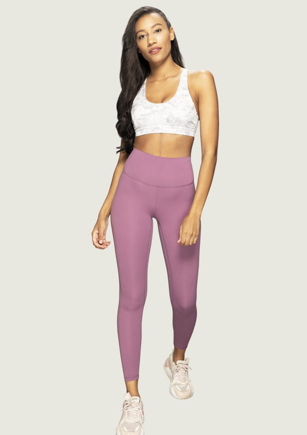 L'Couture Starlet High Waist Legging Mauve - L'Couture Collections